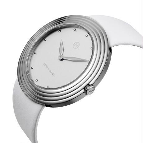 B002-01  Nove ストリームライナー  White Silver  ペアルック  2サイズ
