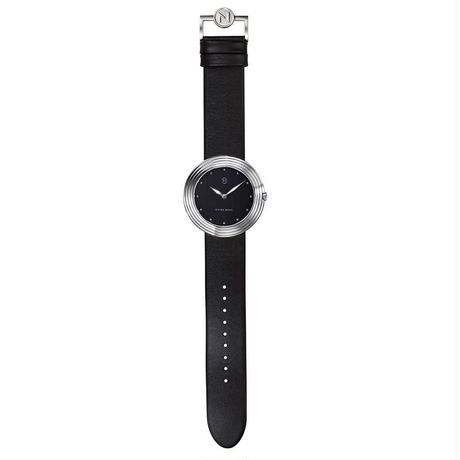 B001-01  Nove ストリームライナー Black Silver  ペアルック  2サイズ