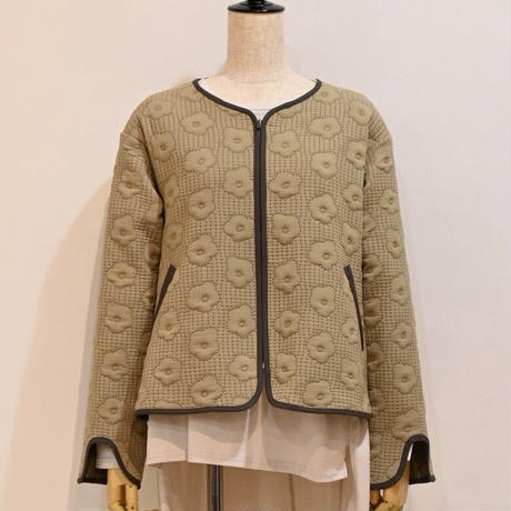 quilting jacket(khaki)