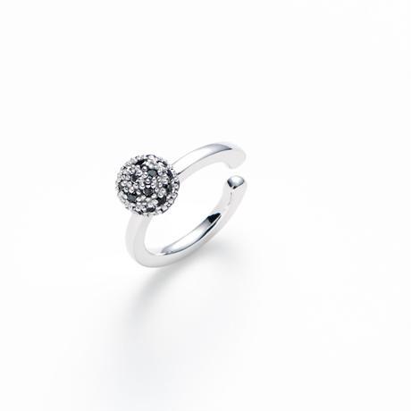実〜minori〜 black diamond earcuff