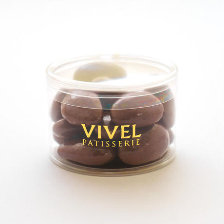 〈チョコレートアソート3個入り〉 アーモンドミルク【パール】・クランチ4種【クランチ】・ホワイトヘーゼル【パール】