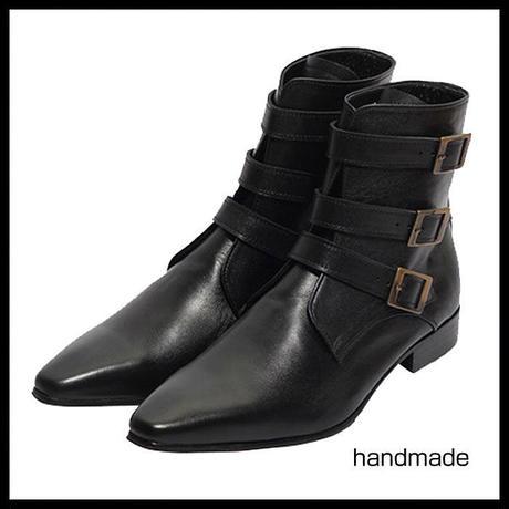 ウエスタンブーツ★mshl0127 ハンドメイド ウエスタンブーツ ショートブーツ メンズ ブーツ ウエスタンブーツ 本革 4cm ヒールブーツ メンズ ブーツ ブラック ブーツ handmade 靴