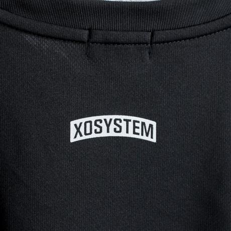 XOSYSTEM|XO ARCH LOGO DRY TEE |BLACK
