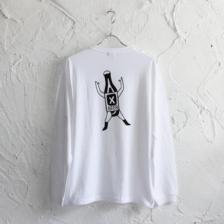 XOSYSTEM|XO BOTTLE X L/S TEE|WHITE