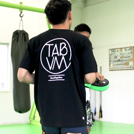 TAB UNDERWEAR|TAB x VM STAND TOGETHER TEE|WHITE