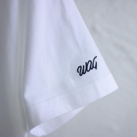 WAG|WAG HANAGASA S/S TEE|WHITE