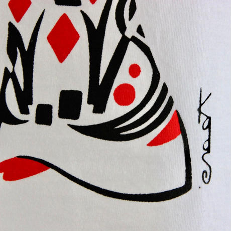 LINX LINX × Kads MIIDA-HANAGASA TANKTOP / WHITE