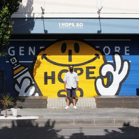 XOSYSTEM|I HOPE XO S/S SHIRT |LIGHT GRAY