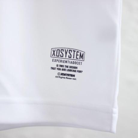 XOSYSTEM XO EXP LOGO DRY TEE  WHITE