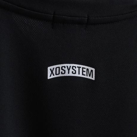 XOSYSTEM XO ARCH LOGO DRY L/S TEE  BLACK