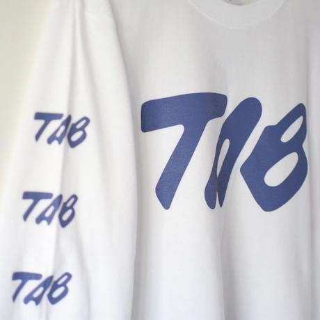 "TAB UNDERWEAR|5.6oz L/S Tee ""CALLIGRAPHY"""