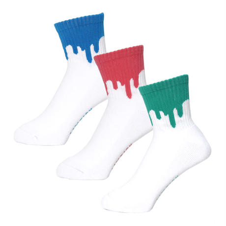 LIXTICK|DRIP SOCKS 3PACK|6th