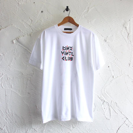LINX|LINX × Kads MIIDA-HANAGASA TEE / WHITE&RED