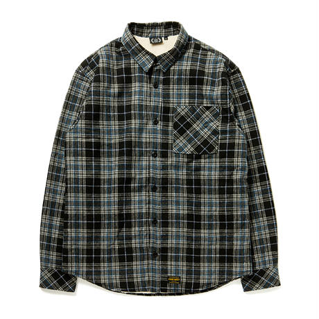 FOURTHIRTY|L/S FLEECE LINER CHECK SHIRTS