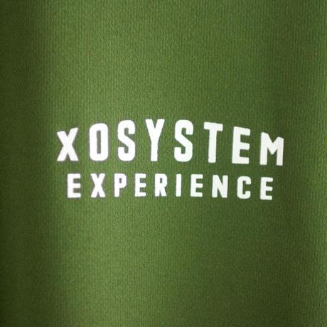 XOSYSTEM XO EXP LOGO DRY TEE  OLIVE