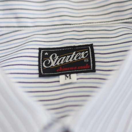 ST-120|STARTEX|KARIYUSHI WEAR|KUINA-SLIM-/ BLUE STRIPE