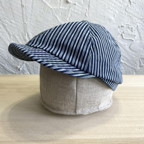 HIGHER|INDIGO STRIPE POSTMAN|COLOR-C