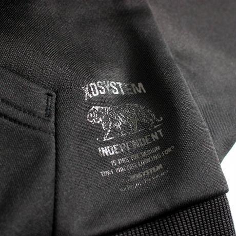 XOSYSTEM|XO TIGER DRY ZIP PARKA |BLACK