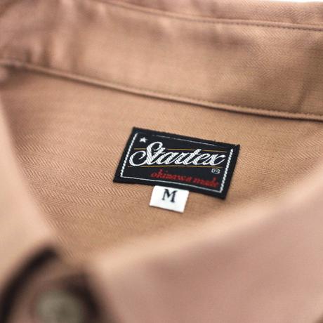 ST-122|STARTEX|KARIYUSHI WEAR|STAR SHISER-SLIM-/ DARK SALMON
