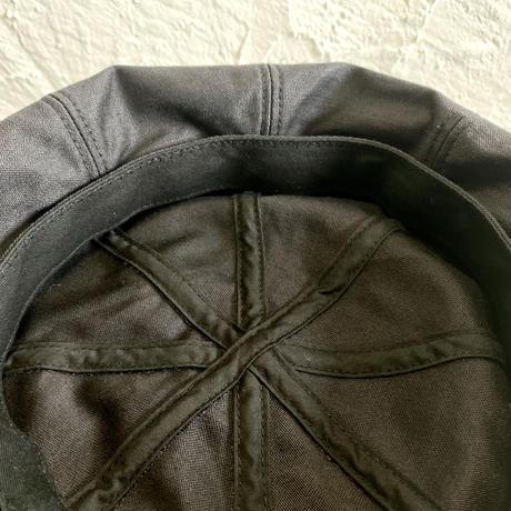 HIGHER BAKER BACKSATIN  WIDE BERET COLOR-BLACK