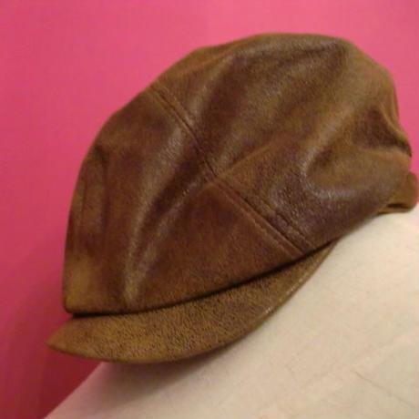 ハンテイング 帽子 茶