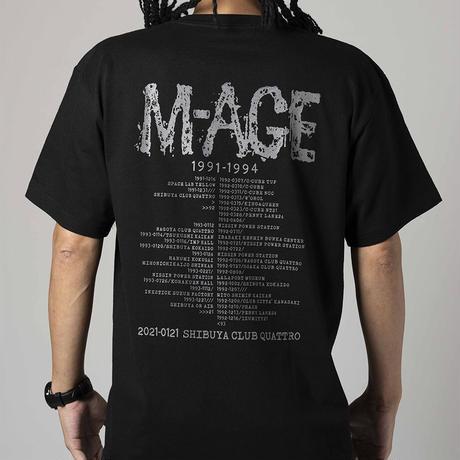 「M-AGE 1991→2021REUNION」TEE  BLACK