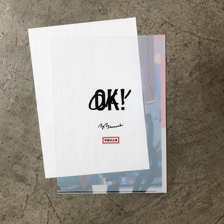 """山崎由紀子 """"OK!""""  Document Folder"""