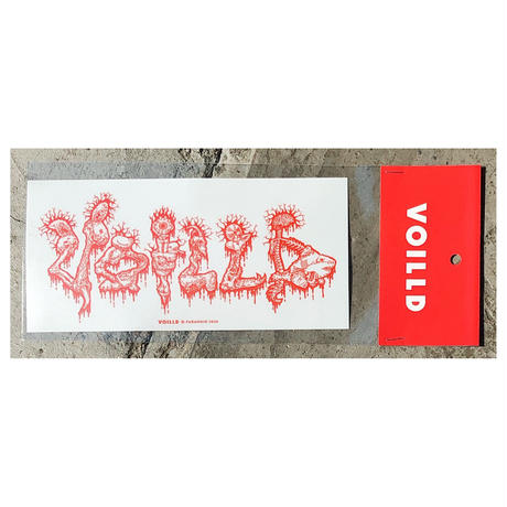 PARANOID × VOILLD -  BIG Sticker