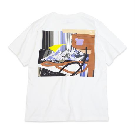 """山崎由紀子 """"OK!"""" T Shirts - White"""