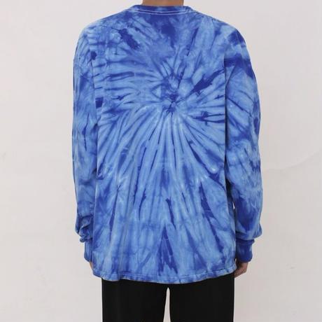 """magma - """"V"""" Tie dye Long Sleeve T Shirts"""