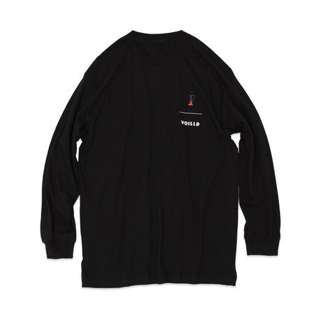 "F by VOILLD ""LEGS"" LONG SLEEVE T-SHIRT"