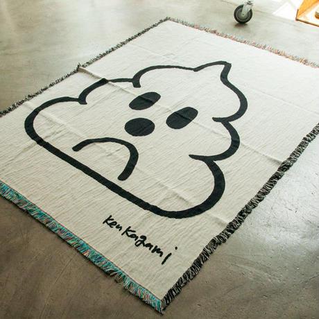 """Ken Kagami - """"POOP"""" Big Blanket"""