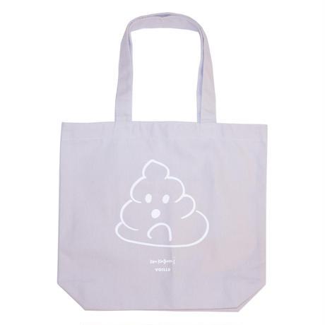 Ken Kagami 'POOP' Tote Bag - Gray