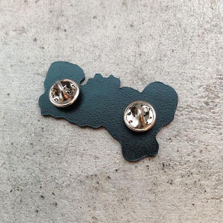 magma - 'デビルマウンテン' Metal Pin
