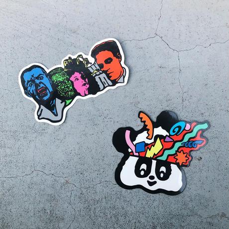 """magma  - """"デビルマウンテン"""" Big Sticker"""