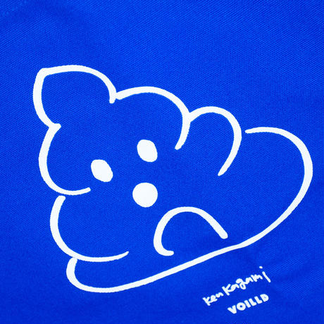 Ken Kagami - 'POOP' Tote Bag / Blue