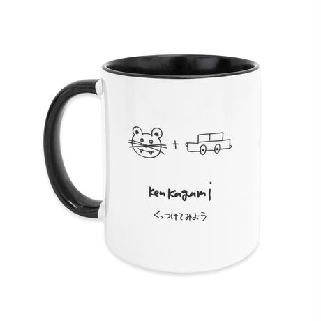 "Ken Kagami - くっつけてみよう MUG CUP ""ねこま"""
