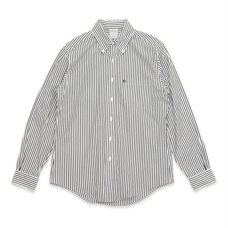 "magma - ""V"" Black Striped Shirts"