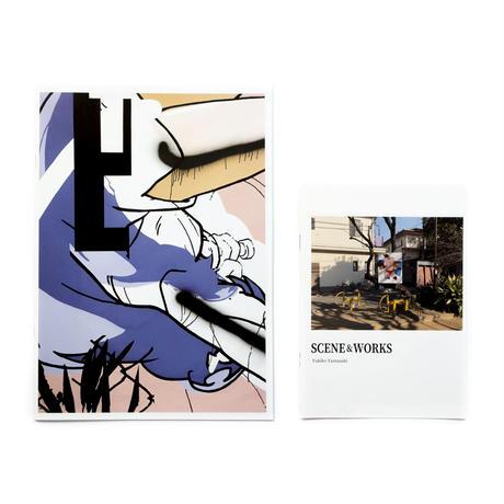 山崎由紀子 - ZINE「SCENE & WORKS」