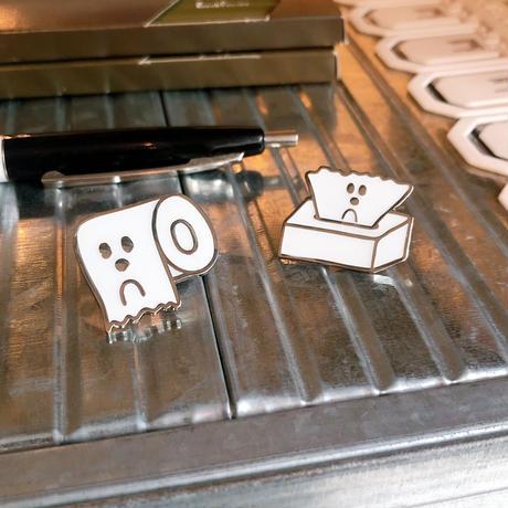 Ken Kagami - TOILET PAPER Metal Pin