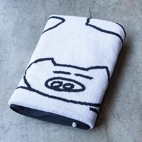 'PIG' Bath Towel (IMABARI TOWEL)