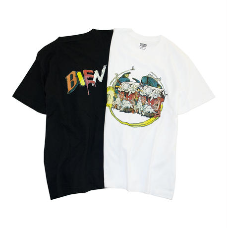 BIEN 'Collage Tee' - White