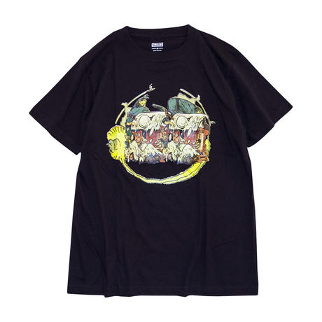 BIEN 'Collage Tee' - Black