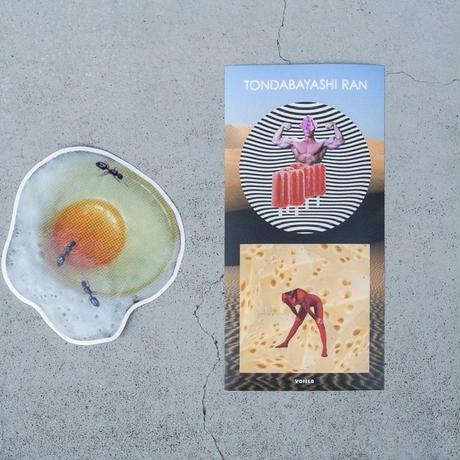 TONDABAYASHI RAN 'Egg' Big Sticker