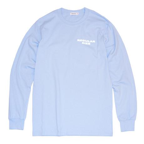 TONDABAYASHI RAN 'REGULAR SIZE' Long Sleeve Tee - Light Blue