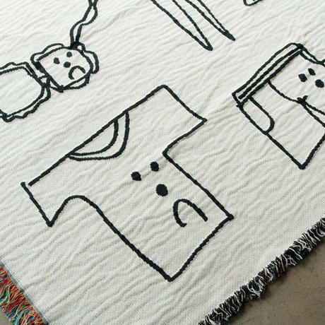 "Ken Kagami - Limited Edition ""SEXY DRAWINGS"" Blanket"