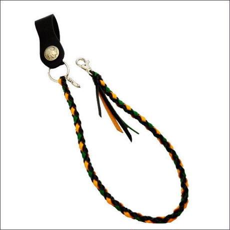 レザー ウォレットコード  インディアンコンチョ ジャマイカカラー 10001144