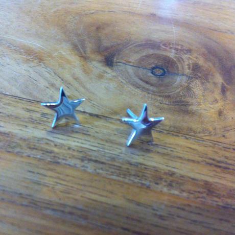 Star  ピアス 925シルバー