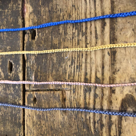 コットン 編みひも ブレスレット、アンクレットの交換