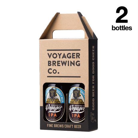 IPA×2Bottles Set 【ボイジャーブルーイング(クラフトビール・地ビール)IPA/アイピーエー】